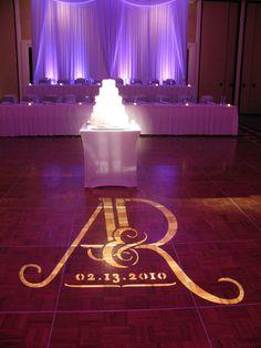 #Gobo on the #dance floor at this #wedding. #RentMyWedding