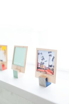 DIY Wooden Polaroid Displays (& video tutorial!) | Sugar & Cloth