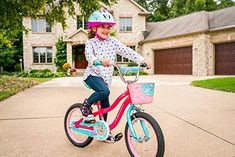 Schwinn Elm Girls Bike for Toddlers and Kids - BikeAddicts Best Kids Bike, 20 Inch Wheels, Female Cyclist, Bike Parts, Bike Frame, Bike Life, Pink Fashion, Bmx, Teal
