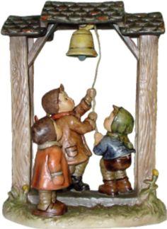 Hummel Let's Tell The World Century Hummel Figurine 487