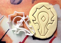 World of Warcraft Horde Sign Cookie Cutter great for cutting Bread, Cheese, Soft fruit and more