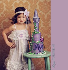 Tangled themed birthday