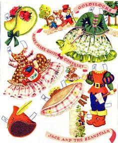 Paper Dolls~Dolls From Storyland - Yakira Chandrani - Picasa Web Albums