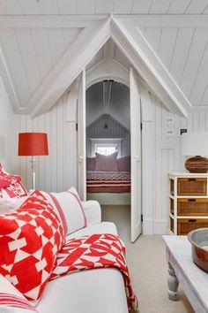 Car Barn - beach style - bedroom - boston - Patrick Ahearn Architect