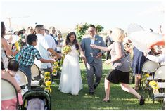 Bride and Groom Just Married Ceremony Exit   Taber Ranch Wedding - Capay Wedding Photographer - Ricky&Anjelica - Chico California Wedding Photography and Videography by Chico Photographer Videographer Couple TréCreative