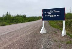 The newly completed Inuvik to Tuktoyaktuk Highway (ITH), is located in Canada north of the Arctic Circle. At it is one of Canada's most expensive roads per kilometre. Canadian Confederation, Northern Canada, Canada North, Travel Magazines, Travel Maps, Great North, Northwest Territories, Arctic Circle, Adventure Tours