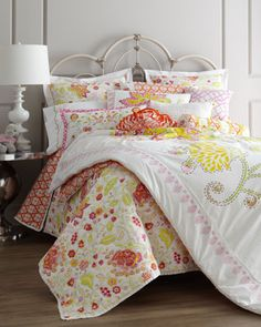 """Olivia"" Bed Linens - Horchow"