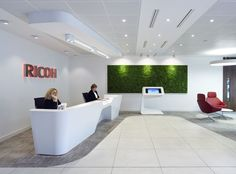 reception desks for media offices - Google Search