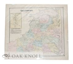 Philadelphia: Pomeroy & Beers, 1868. 15 5/8 x 14 1/2 Single sheet behind clear plastic mylar. Order Nr. 121791