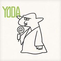 Yoda #yoda #starwars #maytheforcebewithyou #artist #popart #instaart #sketch #instagood #green #cute #seijimatsumoto #松本誠次 #art #artwork #draw #drawing #illustration #illust #illustrator #design #graphic #pen #movie #イラスト #ヨーダ #絵 #スターウォーズ #デザイン