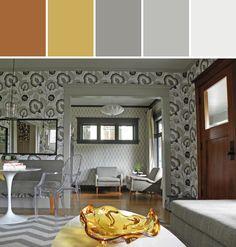 Craftsman Living Room Designed By Matthew Brenner via Stylyze
