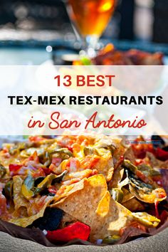 13 Popular Tex-Mex Restaurants in San Antonio San Antonio Food, Mexican Food San Antonio, San Antonio Restaurants, Area Restaurants, Texas Travel, Usa Travel, Travel Tips, Texas Roadtrip, Travel Ideas