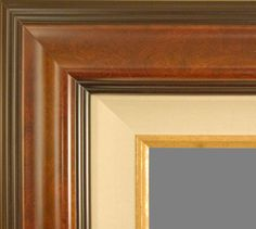 """Beautiful Picture Frame! Perfect For Artwork, Photographs, Canvas Paintings, Oil Paintings, Watercolor Paintings, Acrylic Paintings, Portraits, Wedding Pictures, Diplomas, Family Photographs & More. Museum Style Contemporary Burl/Cherry Gold Linen Liner 5.75"""" Wide Wooden Picture Frame. Contemporary Picture Frames, Wooden Picture Frames, Acrylic Paintings, Oil Paintings, Watercolor Paintings, Wedding Art, Wedding Pictures, Saints, Beautiful Pictures"""