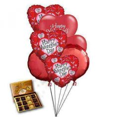 Valentines Day Party Balloons