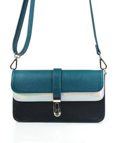 Take a look at this Missco Girl: Raven Dual Flap Clutch by Missco Girl on #zulily today!