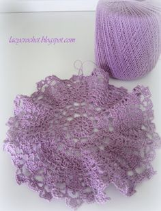 Lacy Crochet: Doily of the week