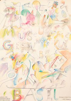 Hommage a Paul Klee by Tinguely, Jean | Shop original vintage #posters online: www.internationalposter.com
