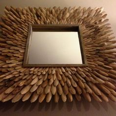 """Our new """"Driftwood Mirror, Icarus"""" by Ben Forgey (benforgey.com)"""