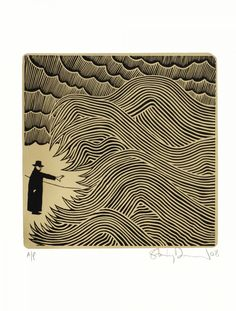 Gold Cnut by Stanley Donwood