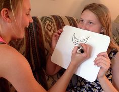 This is a great activity for family sessions. It helps children recognize different emotion expressions on others' faces. All you need is a small dry erase board and some dry erase markers (coul...