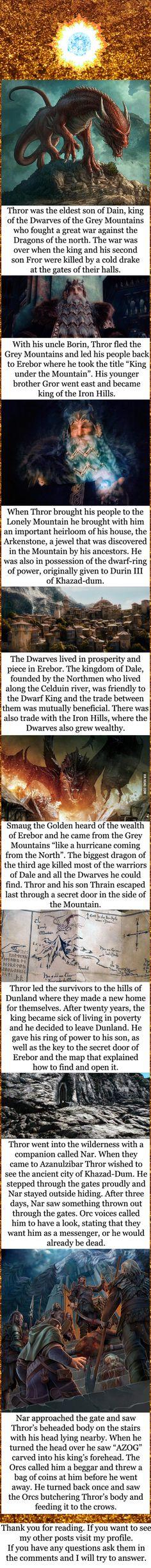 Tolkien lore - Thror