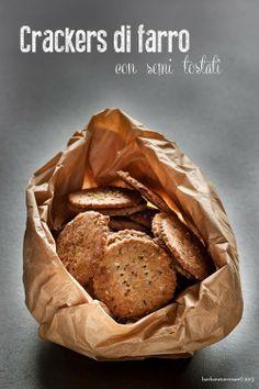 BABS (R)EVOLUTION: crackers di farro [con semi tostati]