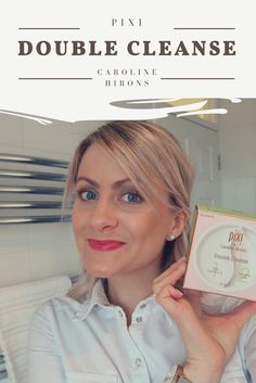 I've been testing the Caroline Hirons for Pixi Double Cleanse skincare product and have shared a video of my review.