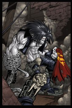 lobo comic art | Lobo Color by Sandoval-Art on deviantART