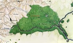 Map of Lothlorien