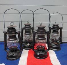 Antique metal and glass Lanterns £50 www.colonialsoldier.com