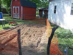 my recycled redneck garden