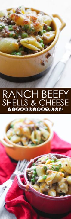 Hidden Valley® Original Ranch® Beefy Shells and Cheese   Transform an old standby into something extraordinary!
