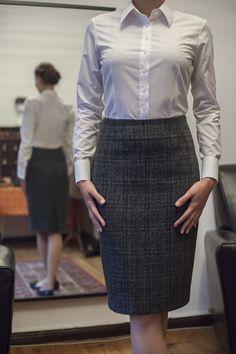 Tweed  spódnica