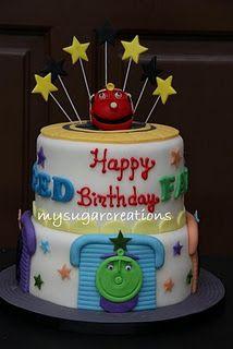 Chuggington Cake for Drew!
