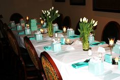Breakfast at Tiffanys Party! What a great idea!