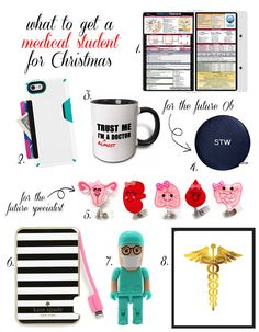 gift guide: for a 3rd or 4th year medical student