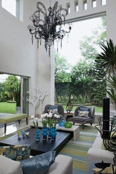 Las 45 mejores im genes de sala doble altura en 2019 - Decoraciones de casas modernas ...