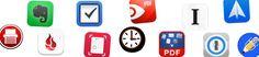 Das papierlose Büro und meine wichtigsten Apps dafür Apps, Logos, Logo, App, Appliques