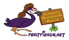 This is one of our logos. If you love camping then check out this fourm the greatest group of people