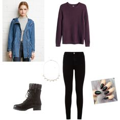 A fashion look from November 2015 featuring H&M sweaters, Forever 21 jackets und 7 For All Mankind jeans. Browse and shop related looks.