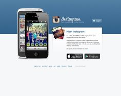 Instagram. If you're not using it already, visit http://instagram.com/