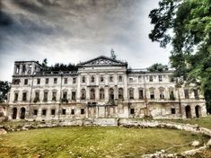 Abandoned places in Europe, Sławików, Poland Places In Europe, Abandoned Places, Sri Lanka, Travel Photos, Poland, Louvre, Rock, Building, Fotografia