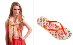 Spring Style Cast: It's all about color! Pair your spring scarf with our Slim Cool White/Orange Havaianas from our Spring 2012 collection! Spring Style, Spring Summer, Spring Scarves, Lily Pulitzer, Spring Fashion, It Cast, Pairs, Slim, Orange