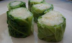 Macrobiotic recipe: Sauerkraut cabbage rolls
