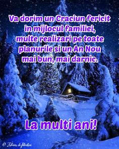 An Nou Fericit, Xmas, Christmas, Diy And Crafts, Romania, Religion, 3d, Quotes, Anime