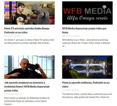 Před časem se ukázalo, že důležitým krokem ke zviditelnění firem na internetu je video - podívejte se. http://plzen.cz/category/zpravodajstvi/video