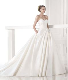 Ball Gown Wedding Dresses : Tastefully Sexy Pronovias Wedding Dresses 2015 Fall Collection: www.modwedding.c