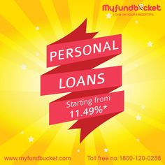 Personal Loan Providers in India - MyFundBucket Visit: https://www.myfundbucket.com/Personal-Loan Toll Free: 1800-120-0288 #personal #loan