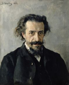 mrdirtybear:  geritsel: Valentin Serov - portrait of the composer Pavel Blaramberg