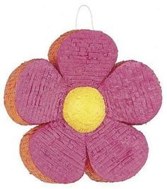 Flower-Pinata-Pink-Spring-Birthday-Party-Game-Kids-Candy-Toy-Favors-Goodies-Prop